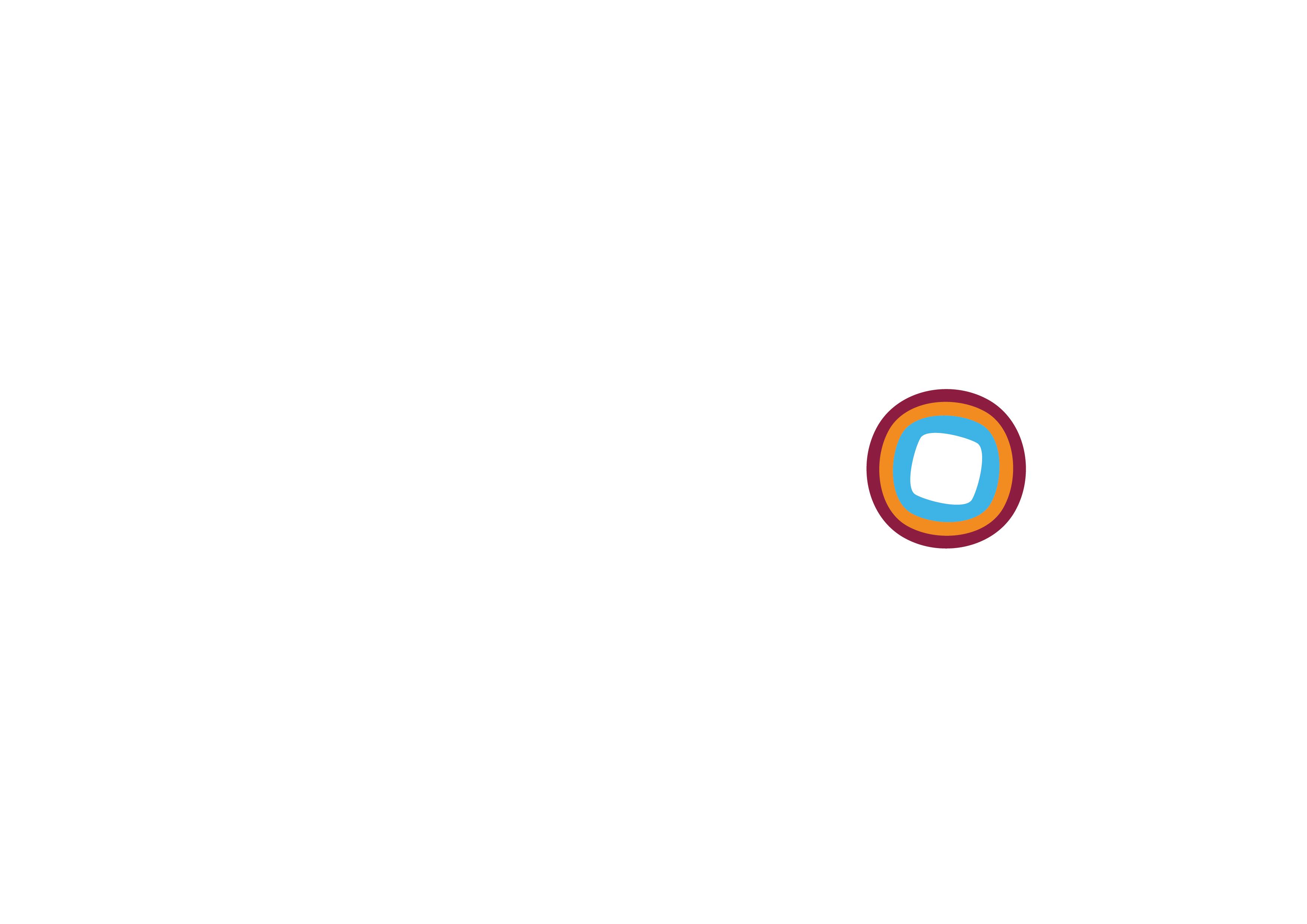 Qasswa Logo in white شعار القصواء بالأبيض